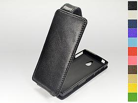 Откидной чехол из натуральной кожи для Sony Xperia P (lt22i)
