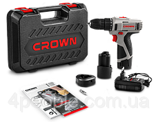 Аккумуляторная дрель-шуруповерт Crown CT21053LH-1.5 BMC, фото 2