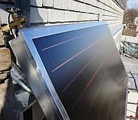 Всесезонная система нагрева воды 120 л. (ГВС), на коллекторе HEWALEX. Реализованный объект в г. Днепр, фото 1