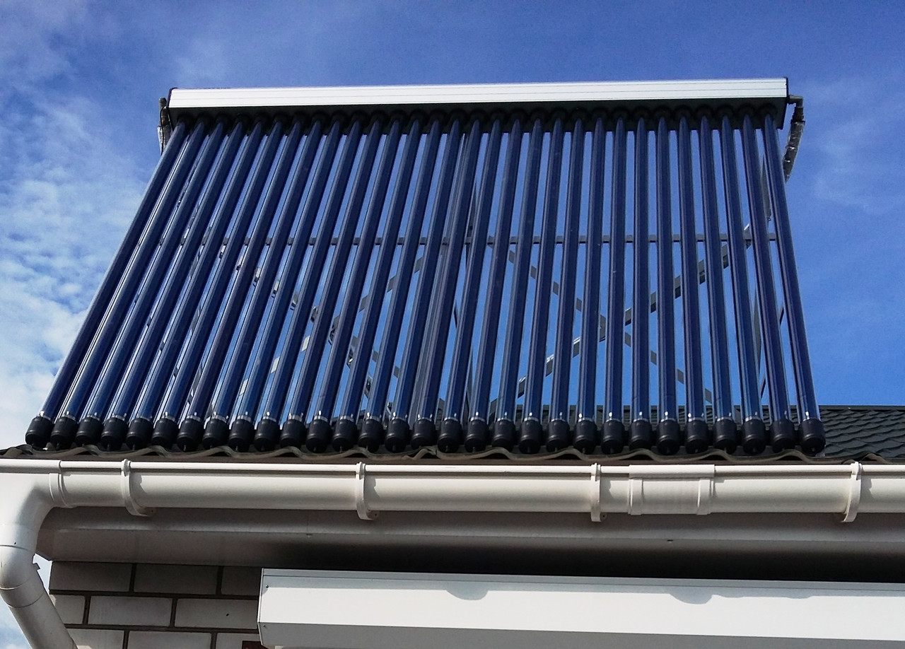 Всесезонна система нагріву води на 750 л., для приватного будинку. Реалізований об'єкт в Запорізькій області