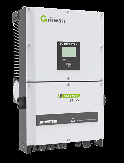 Мережевий інвертор GROWATT 30000TL3-S (30кВ, 3-фазний, 2 МРРТ)