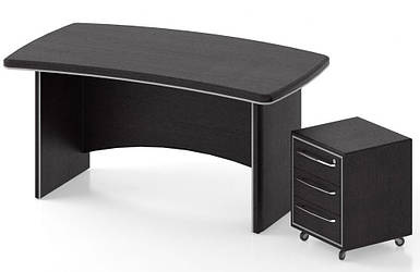 Комплект стол + тумба Альянс - 1 TM Salita