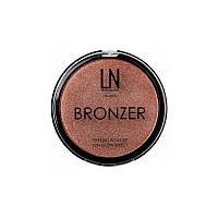 Бронзер-хайлайтер для лица LN Bronzer, 102