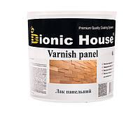 Лак для дерева панельный Bionic-House 0,8л Безцветный Полуматовый