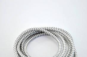 Кабель Usb-cable Micro USB 4you Magnetic silver (2000mah, плетение Питон, 360град.), фото 3