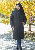 Зимнее пальто выстеганное 48-58 р.р.
