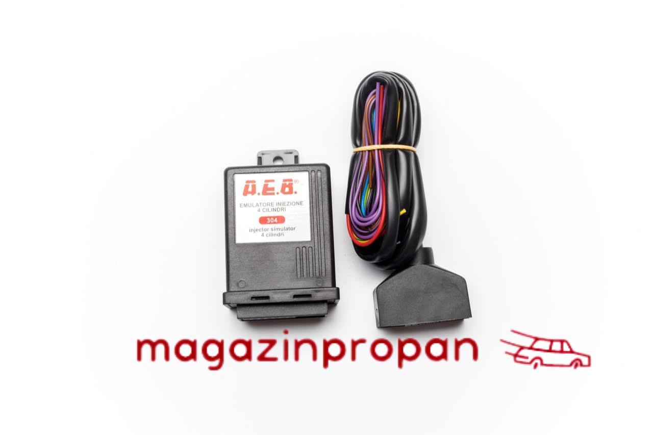 Эмулятор форсунок AEB на 4 цилиндра (без разьемов)