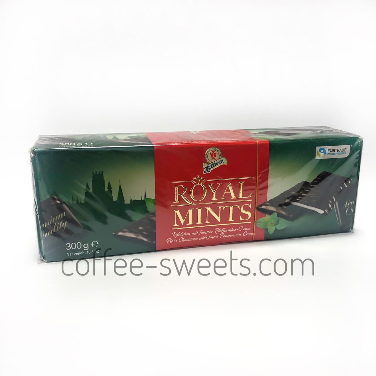 Шоколадные конфеты Royal Mints с мятой 300 г