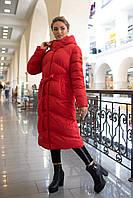 Модный пуховик зимнее пальто Магнолия размеры  42 - 56, ТМ NUI VERY