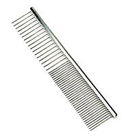 Профессиональная расческа Safari Comb металлическая для собак, 18см