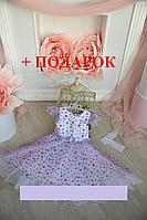 Детское нарядное платье блестящее на 3- 6 лет, фото 1