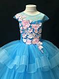 Пишне ошатне плаття Катрін на 4-5, 6-7, 8-9 років, фото 7