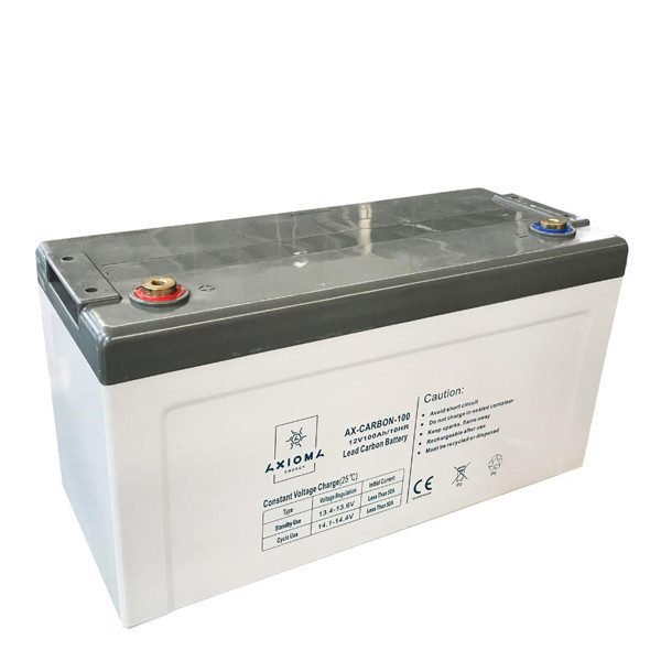 Свинцево-вуглецеві акумулятори AX-Carbon-100, 100Ач 12В, AXIOMA energy