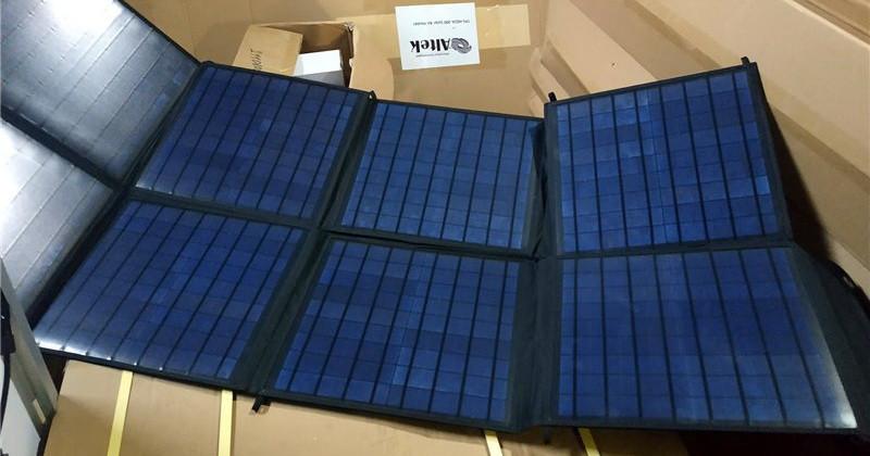 Портативний розкладне зарядний пристрій 100W ALT-FSB-100