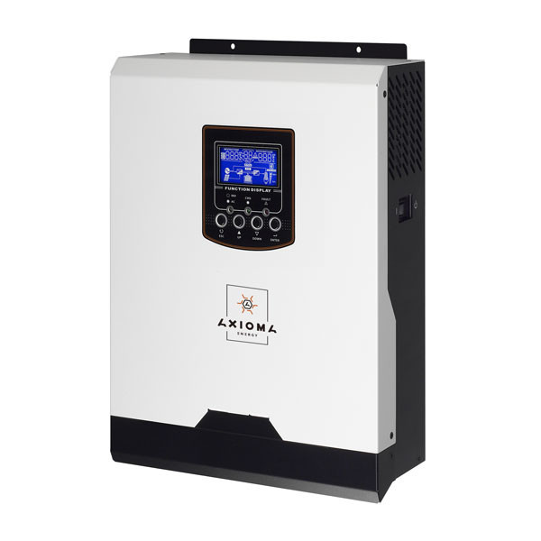 Автономный инвертор 1000ВА, 12В + ШИМ контроллер 50А, ISPWM 1000, AXIOMA energy