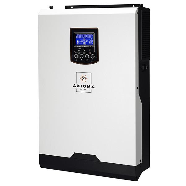 Гибридный ИБП 5000Вт, 48В + МППТ контроллер 80А, ISMPPT-BF 5000, AXIOMA energy
