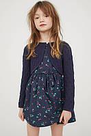 Платье в комплекте с ажурным балеро H&M