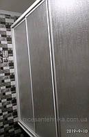 Душевые двери на ванну 3-и створки 170*140 см., фото 1