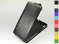 Откидной чехол из натуральной кожи для Sony Xperia X Dual F5122