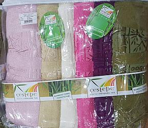 Полотенца лицевые «Cestepe Жасмин» 100% бамбук (Турция)