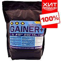 Гейнер для набора массы и веса GAINER 67% банановый йогурт 2 кг. на развес
