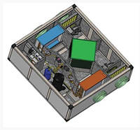 Подвесная ПВУ VHRV-DX-1500 с пластинчатым рекуператором и тепловым насосом