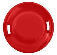 Ледянка диск НЛО (красный)