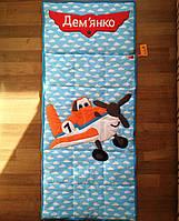 Самолёт - детский спальник-слипик, спальный мешок