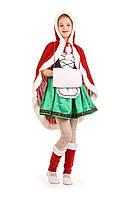 Детский карнавальный костюм Герда новогодняя