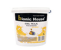 Масло-воск для дерева OIL WAX | 1л | Безцветный | Bionic-House |