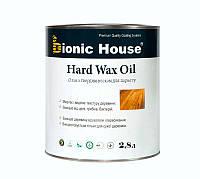 Масло для пола с твердым воском Bionic-House 2,8л Безцветный