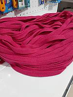 Шнур для одежды без наполнителя х/б 16мм цв малиновый (уп 100м) Ф