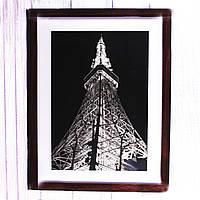 Фоторамка Эйфелева башня ночью, 43*33 см