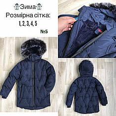 Детская зимняя курточка для мальчика от 1 до 5 лет