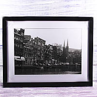 Фотокартина набережная Амстердама, 43*33 см
