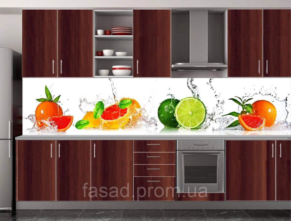 Скіналі для кухні (ламінована наклейка) Кухонний фартух розмір 600*3000 мм. Код-10105