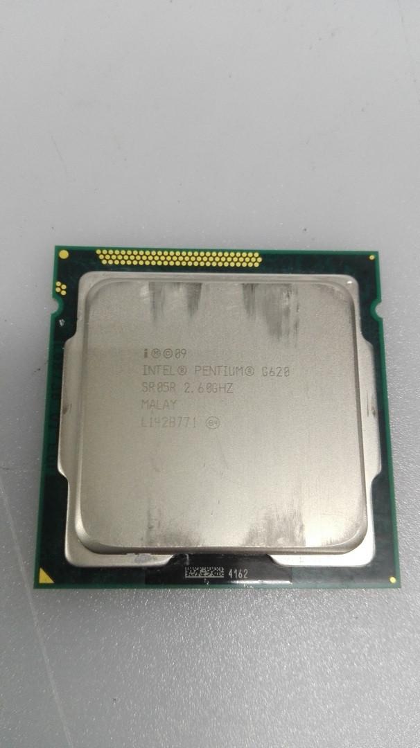 Процесор Pentium Dual-Core G620 2.6 GHz/3MB/5GT s1155