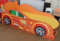 Кровать машина с подсветкой фар  Спорт 2