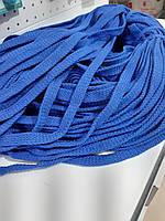 Шнур для одежды без наполнителя х/б 16мм цв василек (уп 100м) Ф