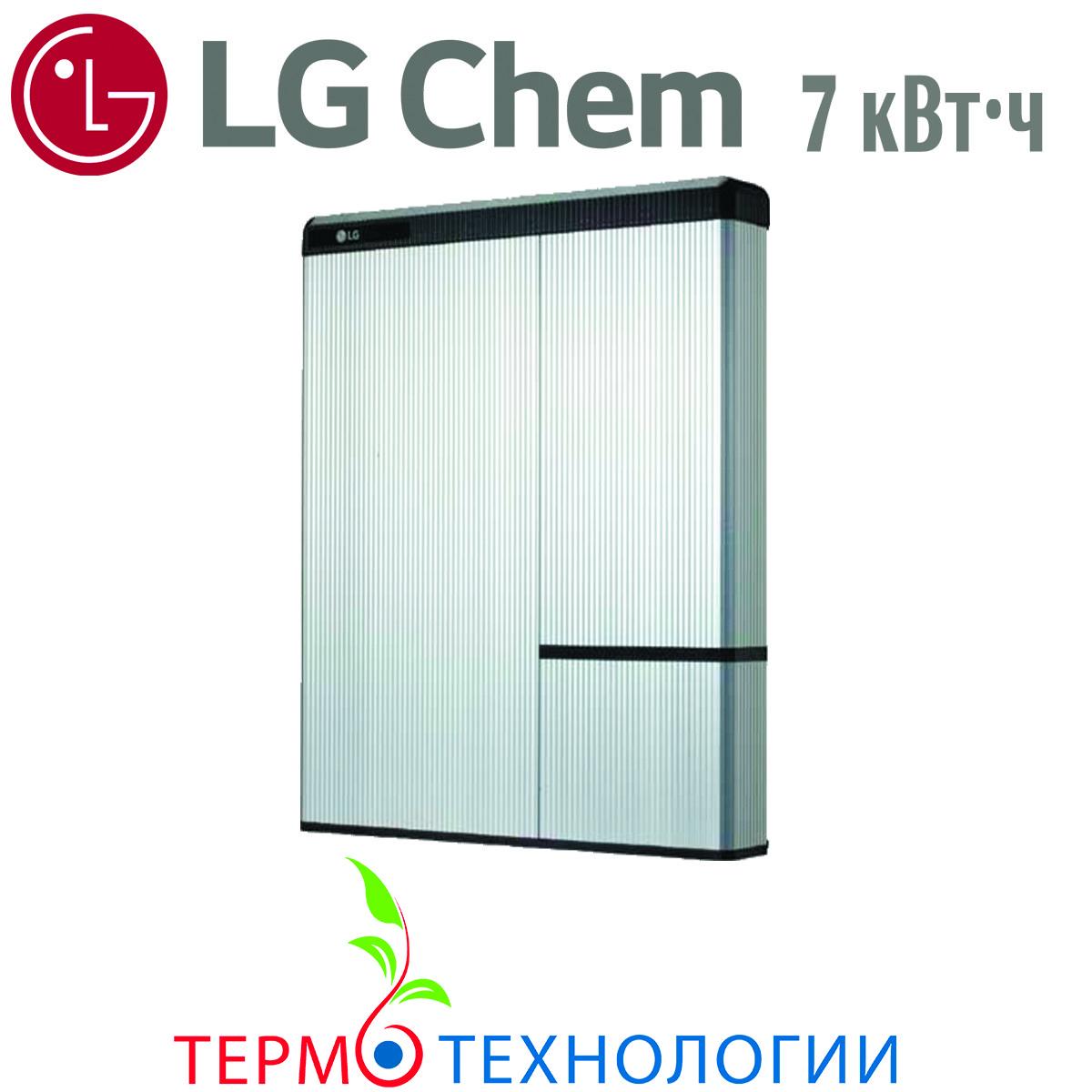 Литий-ионные аккумуляторы LG Chem RESU 7 кВт*ч, мощность 430-550В