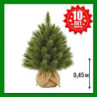 Искусственная ель TriumphTree Forest frosted 45 см Зеленая, фото 1