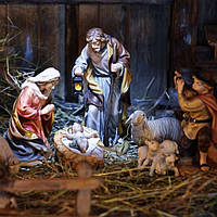 Рождественский вертеп для детей — красивая традиция
