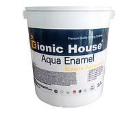 Краска-эмаль для дерева Bionic-House Aqua Enamel 2,5 л Белый
