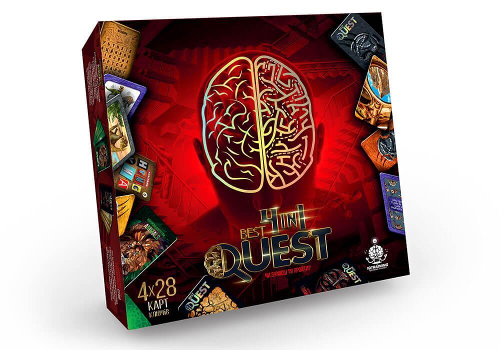 Карточная квест-игра Best Quest 4in1 (BQ-02-01U)