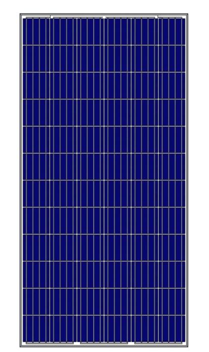 Солнечная батарея (панель)UKSOL UKS -6P-330W/4BB 330 Вт, поликристаллическая  UKSOL
