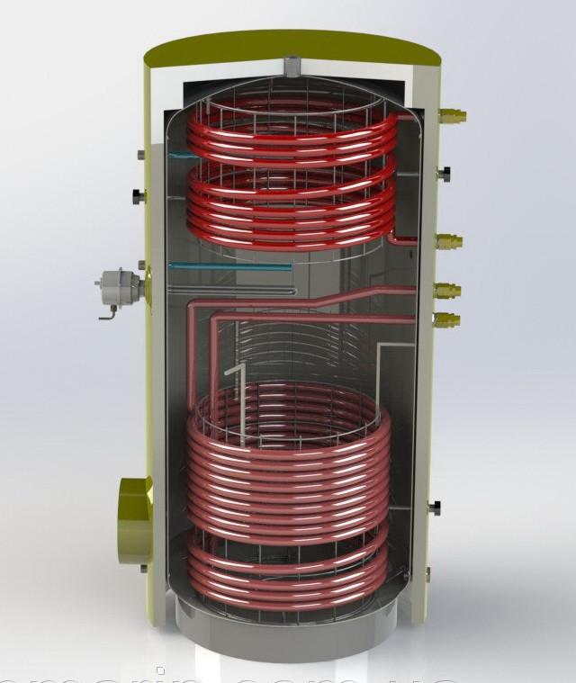 Аккумулирующая емкость модель EA-11-750-X/Y