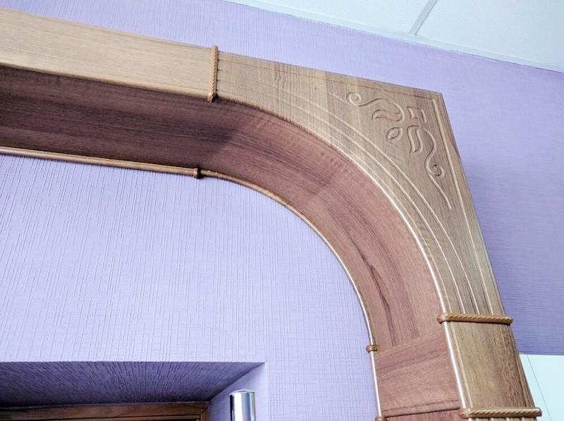 Добавочный комплект к арке 1270*400*2400 ПВХ De Luxe
