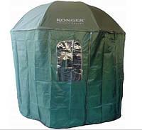 Зонт с навесом KONGER (Зеленый)