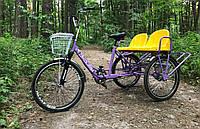 Трехколесный велосипед для троих 3Колеса Трио