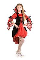 Детский карнавальный костюм Вампиресса на рост 140-150 см, фото 1